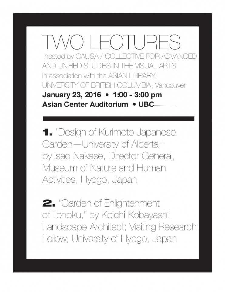 Two Lectures