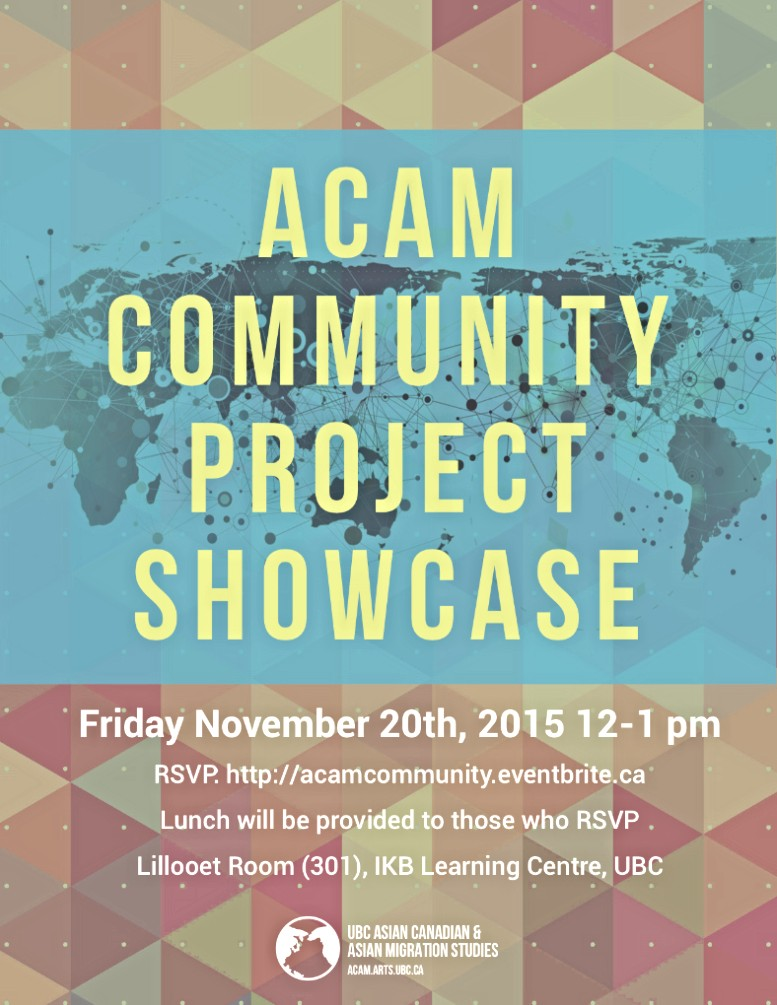 acam community project showcase