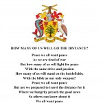 World Poetry Peace Gift Poem from Barbados 2016